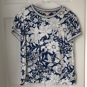 Brooks Brothers Floral Blouse